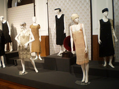 Dresses from 1920 to 1930.