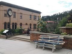 Banc ski bench