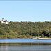 Siccieu-Saint-Julien-et-Carisieu (38) 9 septembre 2013. L'étang de Ry et le château de Saint Julien.