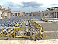 Rome, The Vatican, St. Peters Square 052314