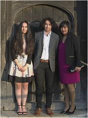 Elmie, Aaron & April.