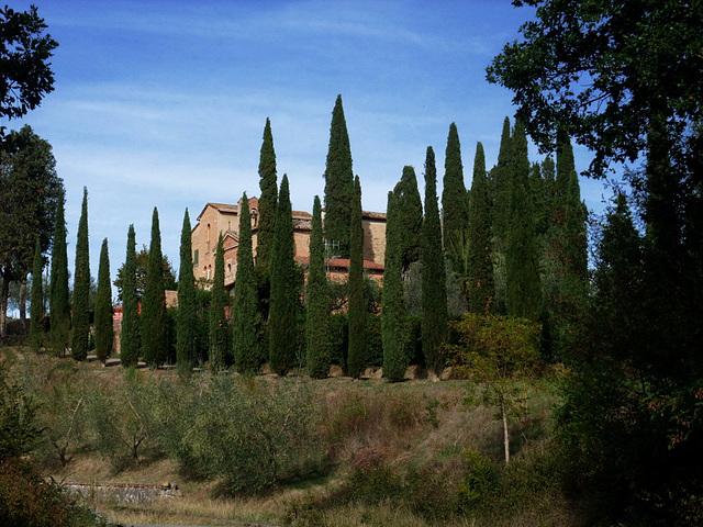 Abbaye en Toscane