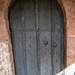 Door and Norman arch,Shotwick church.