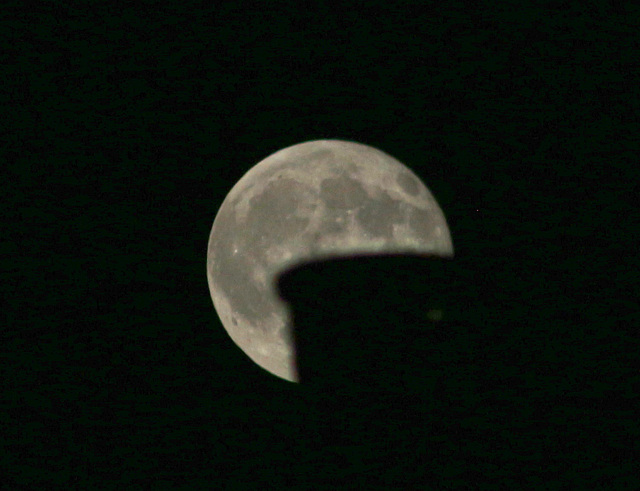 Eclipsi parcial..