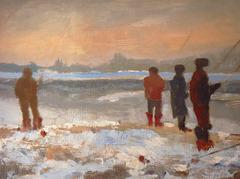 Pescatori sul Ticino