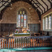 Shotwick church altar.
