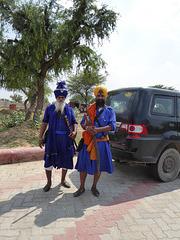 Sikhs unterwegs