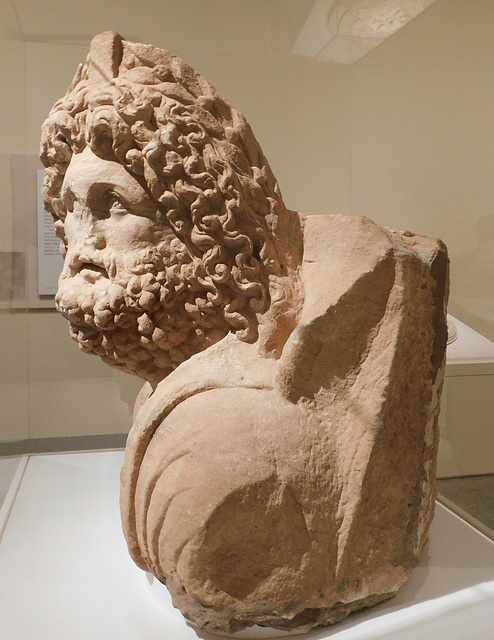 Bust of Dushara in the Metropolitan Museum of Art, March 2019