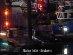 Marina lights Newhaven Harbour - 26.9.2017