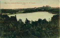 7152. Lily Lake, Rockwood Park, St. John, N. B., Canada.