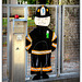 Happy Firefighter Fence