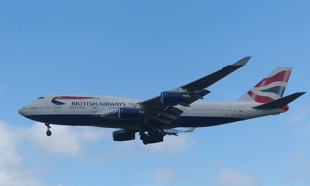G-CIVY approaching Heathrow - 8 July 2017