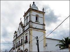 Recife : la vecchia chiesa  de São Cosme e Damião ora monastero