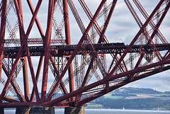 Forth Bridge South Queensferry Edinburgh Scotland 27th August 2017