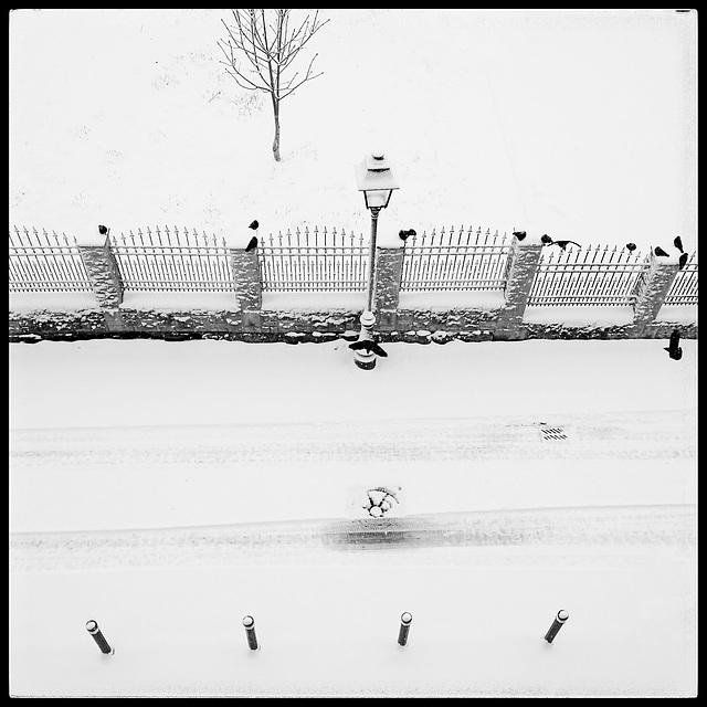 Snowy Alba Iulia