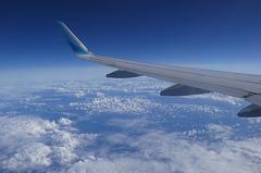 Auf dem Flug...