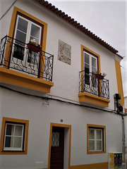 Old house in the historic centre.