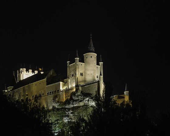 SEGOVIE (Espagne), l'Alcazar.