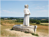 La vallée des Saints à Carnoet en Bretagne (22)