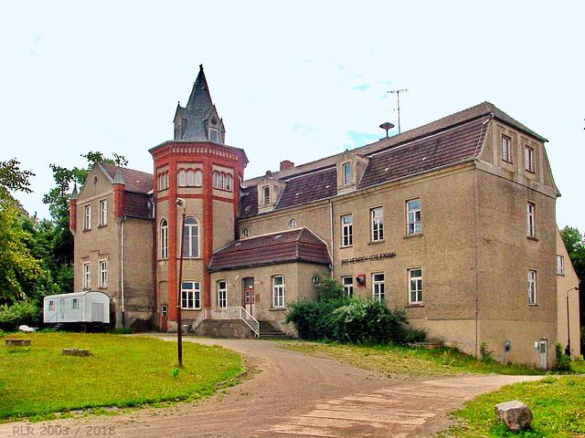 Ankershagen, Herrenhaus