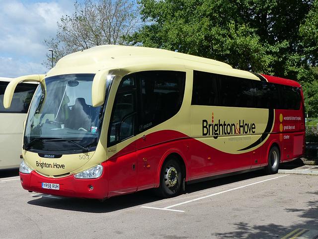 Brighton & Hove 503 in Chichester (1) - 19 June 2015