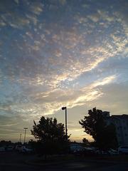 Lever de soleil hôtelier / Motel 6 sunrise