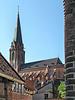 Blick zur Nicolai Kirche vom Hospiz