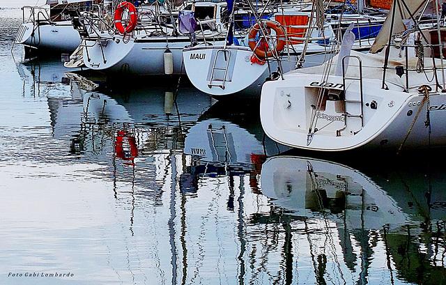 little harbour (Cervia/Italy)