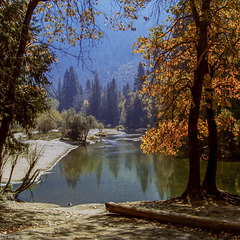 Tenaya Creek - Yosemite NP - Sept. 1989