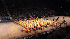 """The combined bands of """"The Royal Caverlry Of The Sultanate Of Oman"""" ~  The Royal Edinburgh Military Tattoo  ~ 2018"""