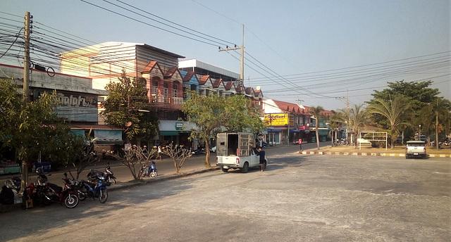 Stationnement public / Public parking (Thaïlande)