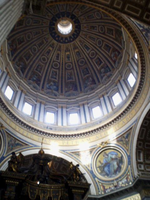 Dome of Saint Peter Basilica.
