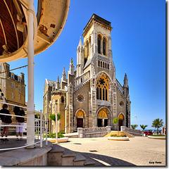 Église Sainte-Eugénie de Biarritz - France