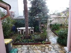 en hiver le jardin