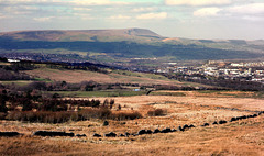 Pendle Hill viewed from Crown Point.