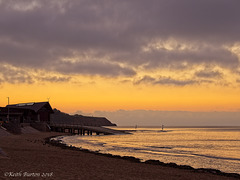 Sunrise at the Lifeboat Station