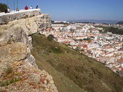 Suberco Viewpoint and Nazaré.