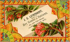 J. G. Lutkenhoff, Dealer in Dry Goods and Notions, Covington, Kentucky