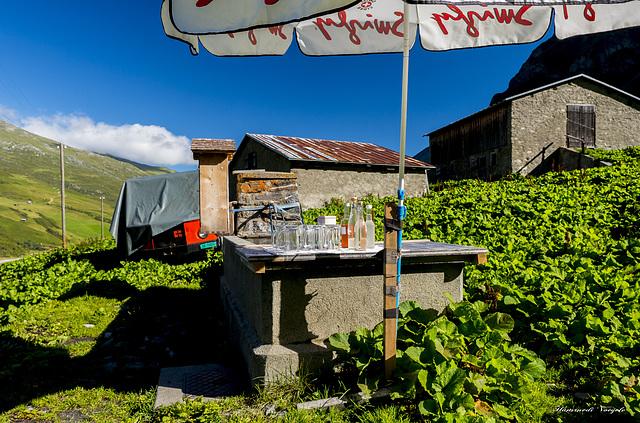 Alphütten Getränke Bar