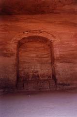 Inside wall.