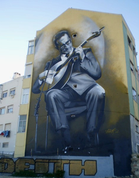 Tribute to Carlos Paredes, the magic guitar player.