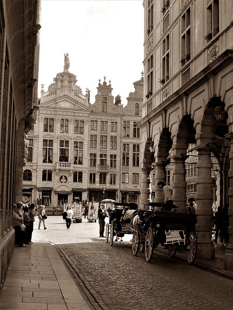 Entree, Grand Place.