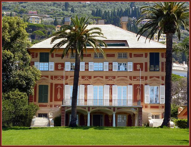 Genova : Villa Grimaldi Fassio ai Parchi di Nervi - (937)