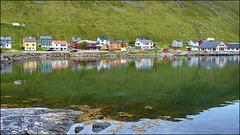 SKARSVA : un villaggio di pescatori di merluzzo - (569)