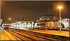 Besançon (25) 21 janvier 2014. 20h30. La gare Viotte.