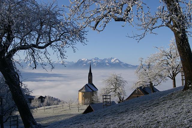 Premières Neiges en Autriche, en 2006