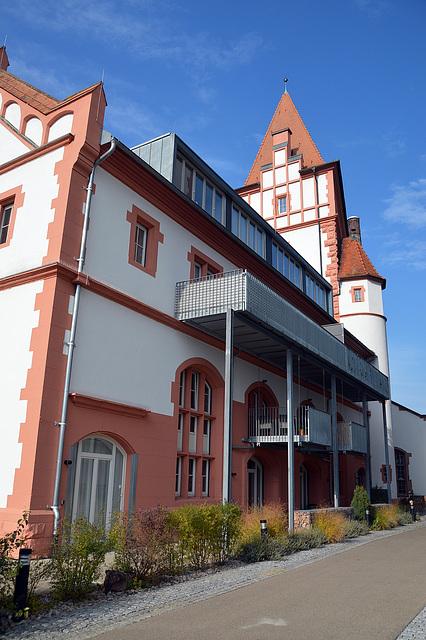Teil der alten Brauerei Riegel, heute als Wohn, Hanwerks und Museumsort genuzt