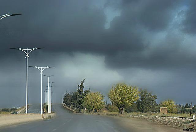 Sur ma route a Sidi Belabbes....