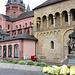 Mainz - Bonifatiusstatue vor dem Dom