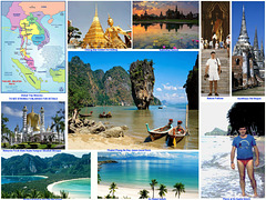 1993 01 Thailand Malaysia Collage